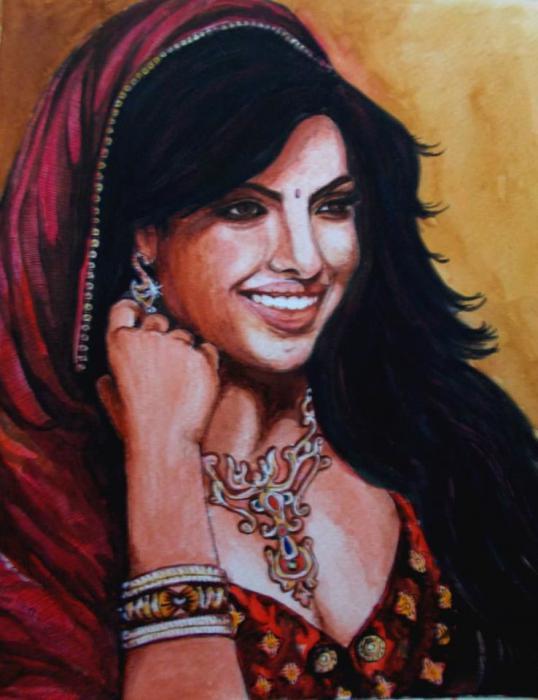 Priyanka Chopra by abhik